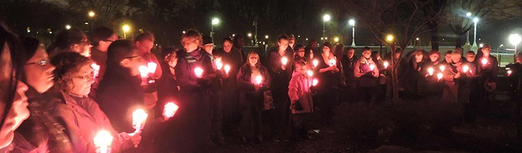 Sisters in Spiriti Vigil