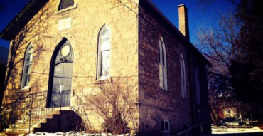 The former British Methodist Episcopal Church in Guelph Ontario was built by escaped slaves who had managed to flee the US to freedom in what was then known as Upper Canada.
